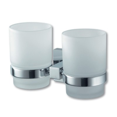 Mezzo Double Glass Holder