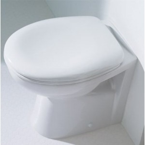 Galaxia Back To Wall Pan with soft close seat