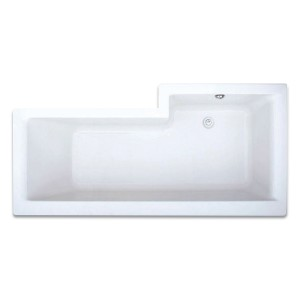 Elite L Shaped Shower Bath