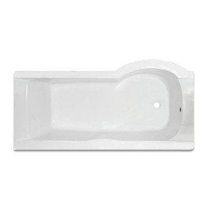 Galaxia P Shaped Bath