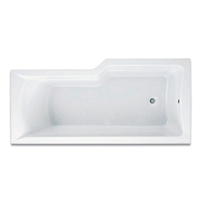 M100 L Shaped Shower Bath Panel
