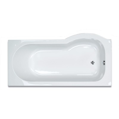 Zeya P Shaped Bath