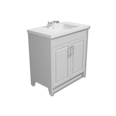 York 800mm Vanity Unit with Basin