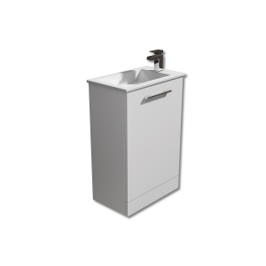 Square 400mm Vanity Unit with Basin