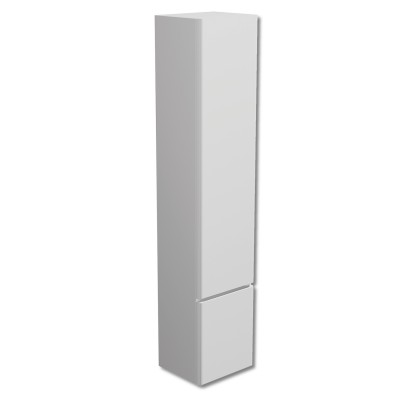 Linea Tall Cabinet White