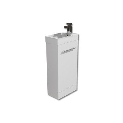 Evora 450mm Floor Vanity Unit with Basin