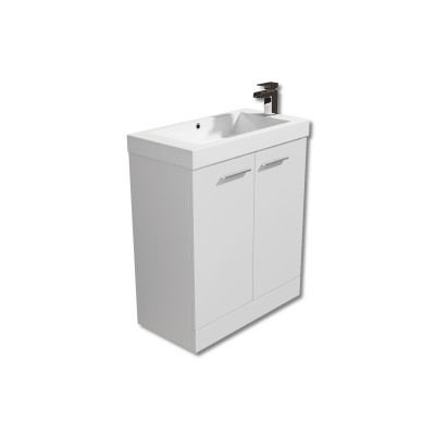 Evora 700mm Floor Vanity Unit with Basin