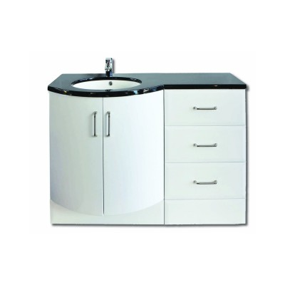 Sparkle Drawer Unit with Basin Unit and Top