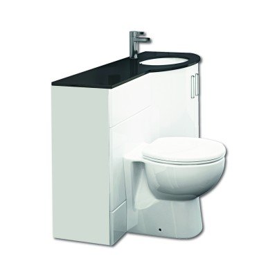Sparkle WC Unit with Basin Unit and Top