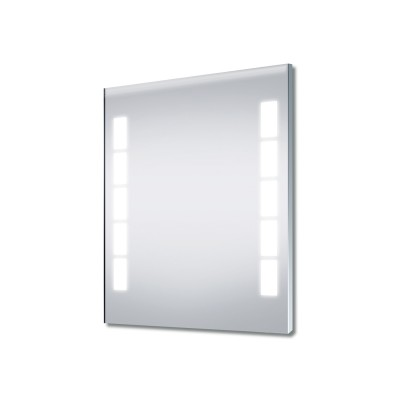 Illuminated Mirror 800 x 600mm Square Lights