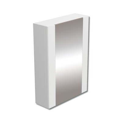 470mm Mirror Cabinet White