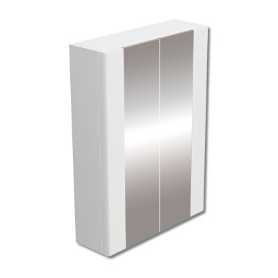 600mm Mirror Cabinet White