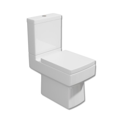 Arley Pure Close Coupled WC Pan and Cistern