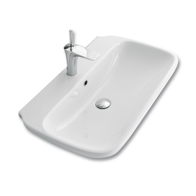 Clear 650mm Basin 1TH