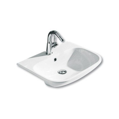 Clear Semi Recessed Basin