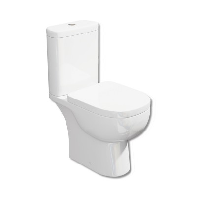 Tilly Close Coupled WC Pan and Cistern