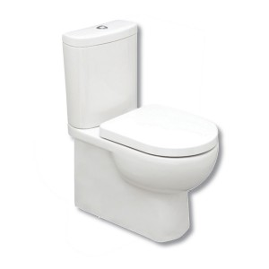 Tilly Back to Wall Close Coupled WC Pan and Cistern