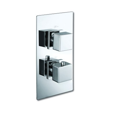 Twin Shower Valve - Square