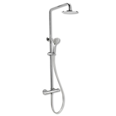 Round Thermostatic Dual Shower Set