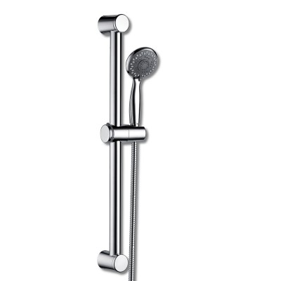 Round Slide Shower Rail Kit