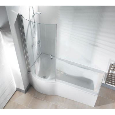 Galaxia P Shaped Bath With Screen Panel