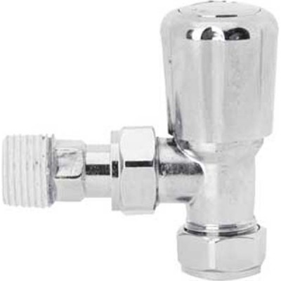 Pair of Chrome Radiator Valves