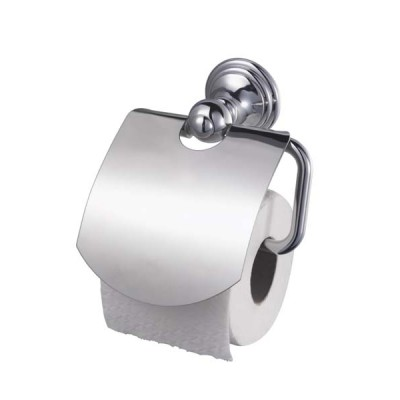 Allure Toilet Roll Holder With Lid