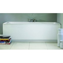 MDF Gloss White 16mm 700mm End Panel & Plinth Height Adjustable