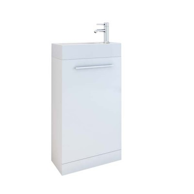 Evora 450mm Wall Vanity Unit with Basin