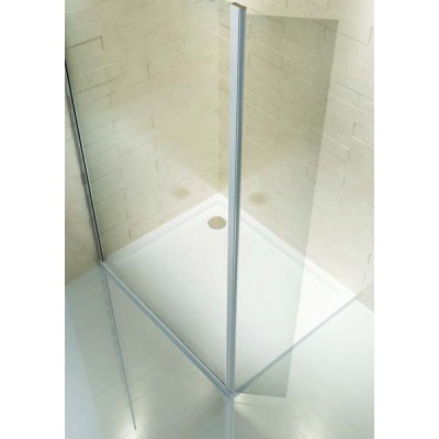 Technik 8mm Walk-In Modular Shower Panel - Hinged 250mm Extension